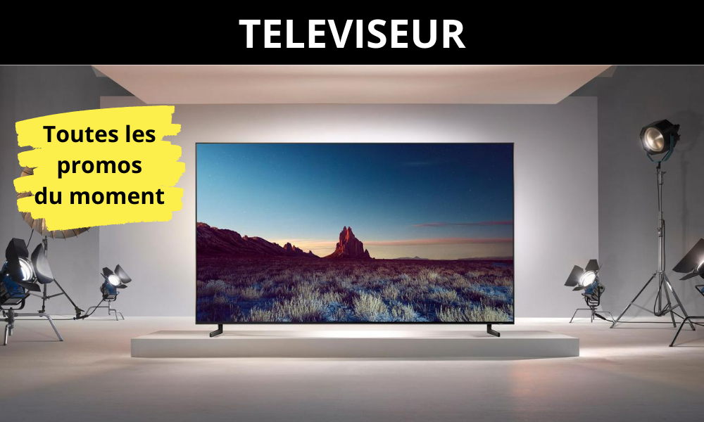Téléviseur - Promos - Pas cher - Bonne affaire - Concept Achat - Chantepie - Caudan