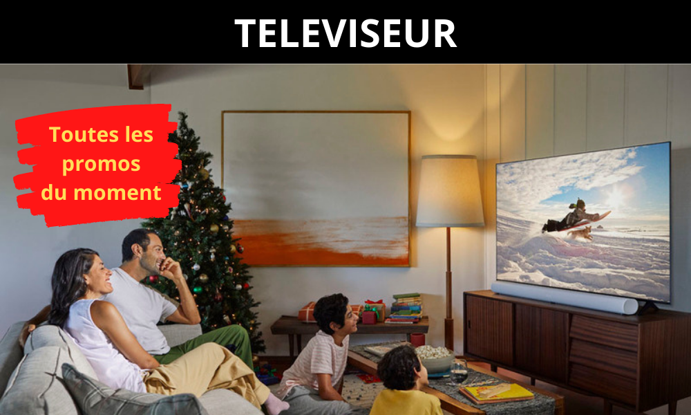 TELEVISEUR - Toutes les promos du moment