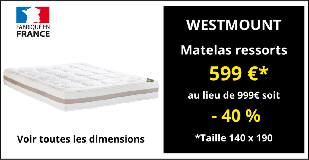 Matelas WESTMOUNT