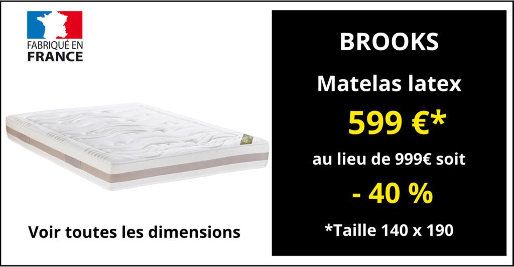 Matelas BROOKS