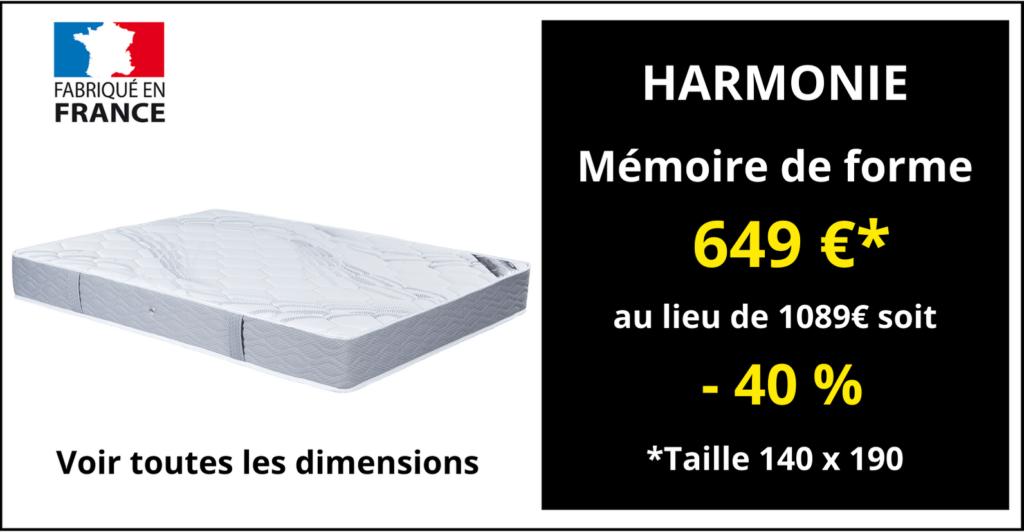 Matelas HARMONIE