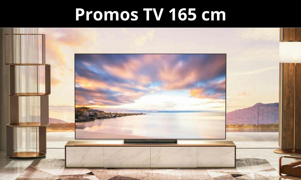 Promos TV 165 cm - Garantie 3 ans